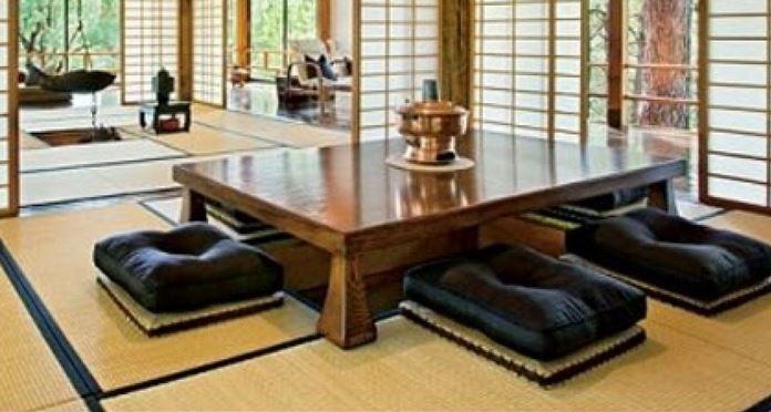 Ruang Tamu Tanpa Kursi Ala Jepang