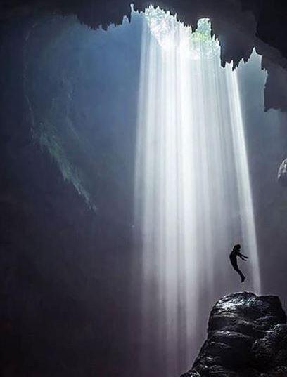 Luweng Jomblang Menjadi Tempat Wisata Gunung Kidul Terbaru